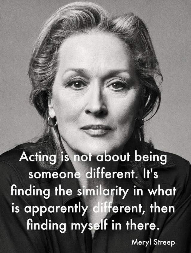 Well said Meryl.